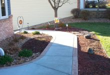 Stamped Walkway in Concrete