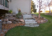 Stairs and Landscaping in Minnesota